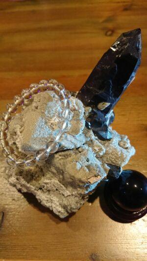 モリオン(黒水晶)クラスター20190629