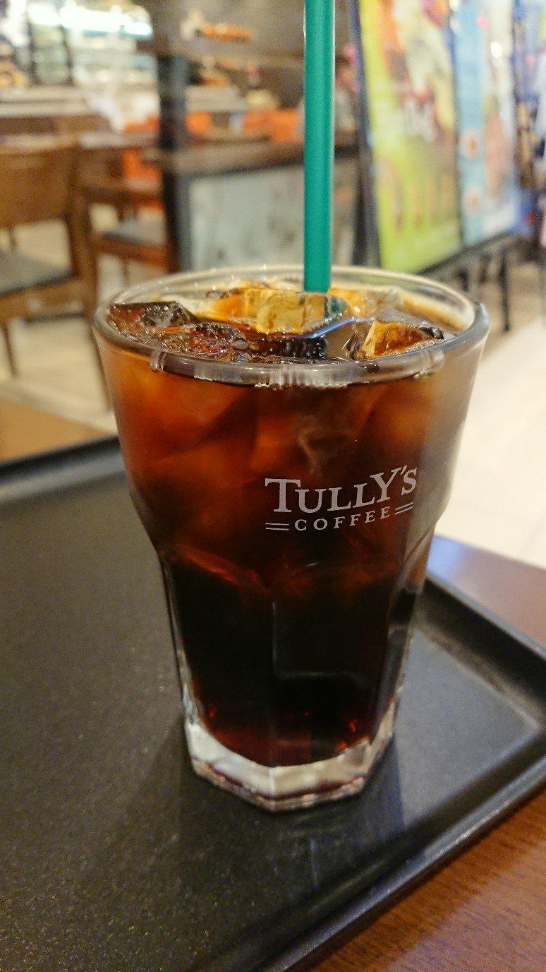 TULLY'Sアイスコーヒー