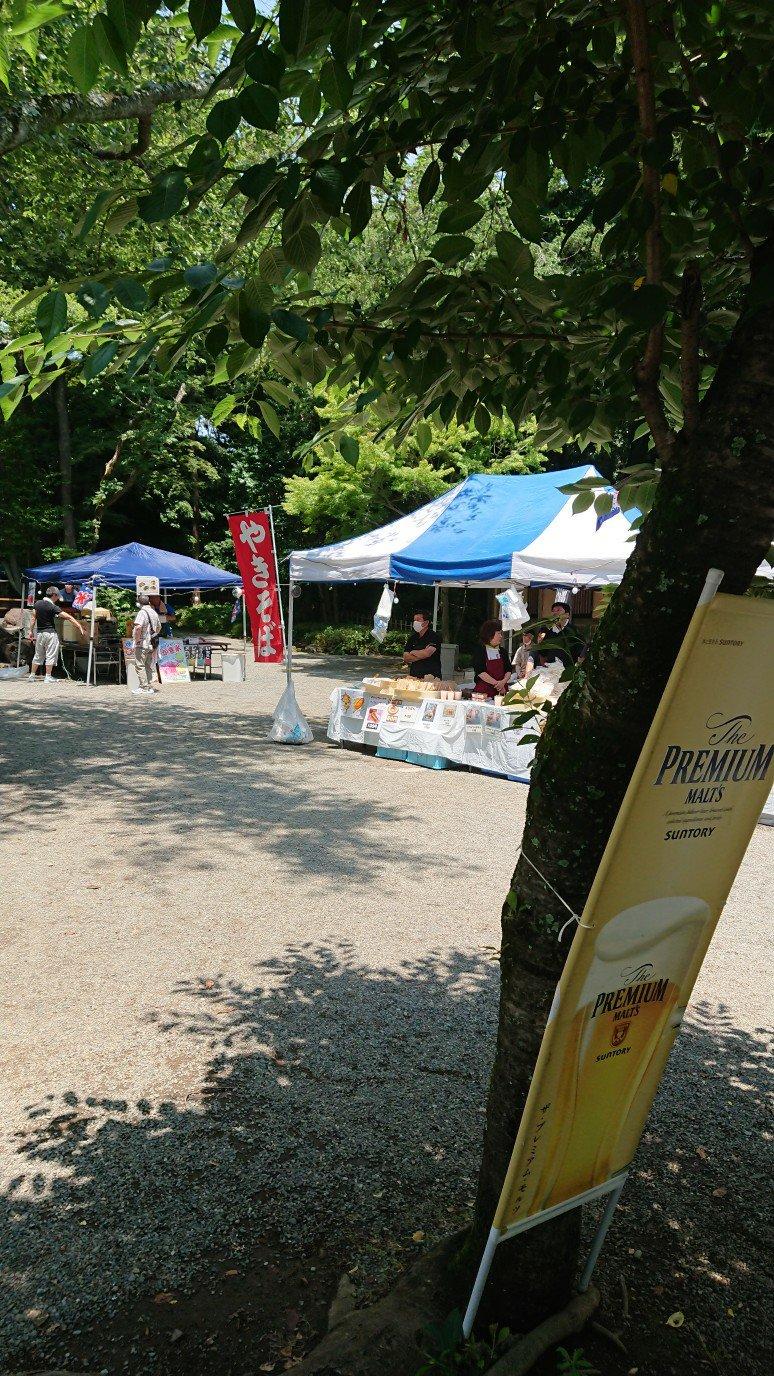 楽寿園ホタル祭り
