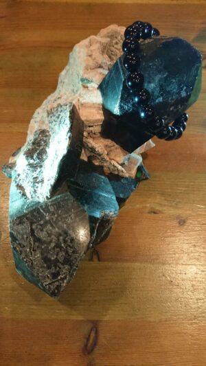 モリオン(黒水晶)クラスター20191221
