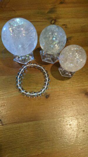 ヒマラヤレインボー水晶ボール20200114