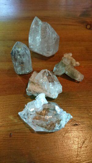 ガーデン水晶原石20200207