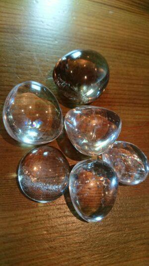 レインボー水晶タンブル20200221